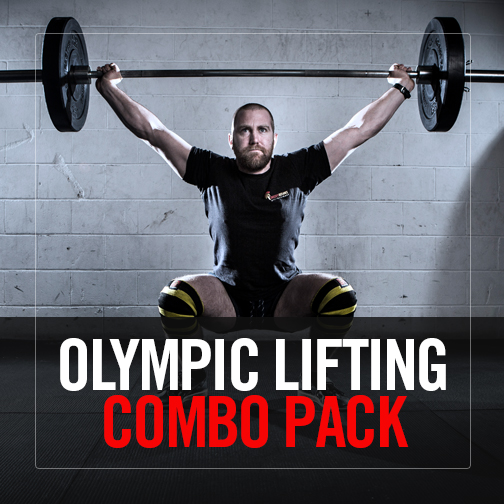 Olympic Lifting – Level 1, 2 + 3 Combo Pack