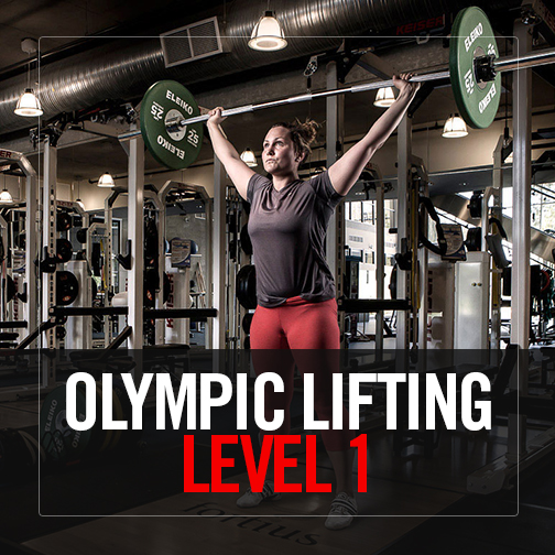 Olympic Lifting – Level 1
