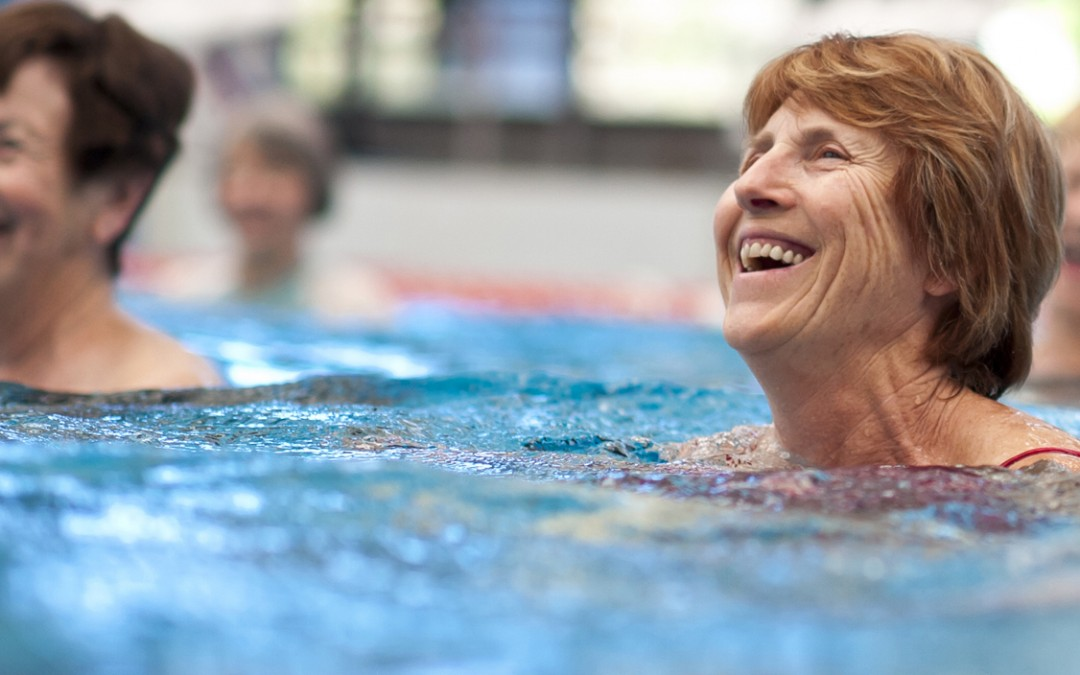 Sprinting Through Water for Rehab and Cross-Training