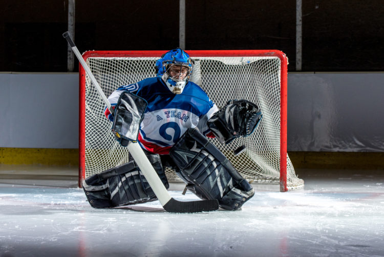 OFF ICE TRAINING FOR HOCKEY GOALIES: