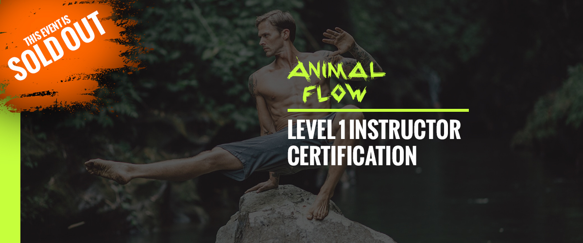 Animal Flow Level 1 Instructor Certification