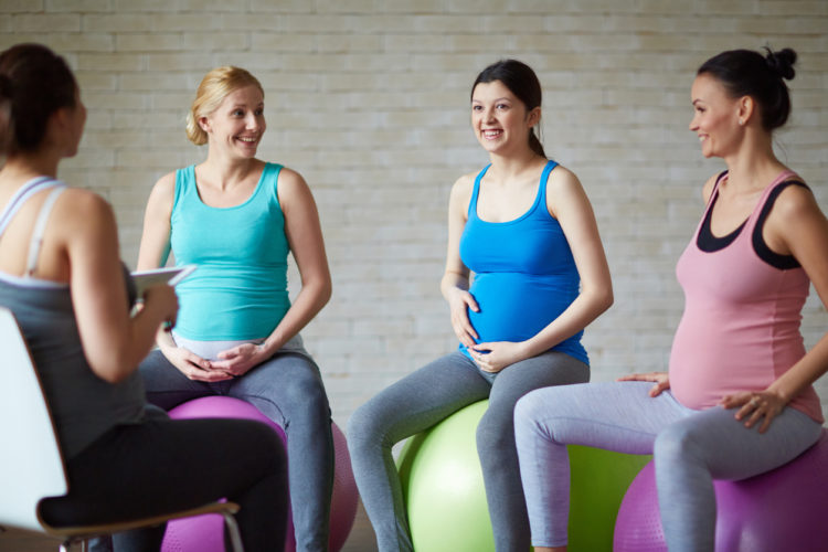 EXERCISE AND PREGNANCY: WOMEN TAKING THE LEAD IN THEIR WORKOUT: