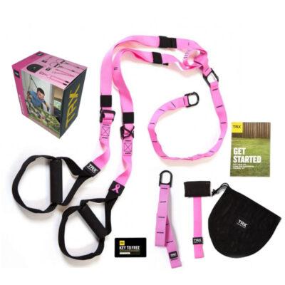 TRX Home Pink Suspension Trainer