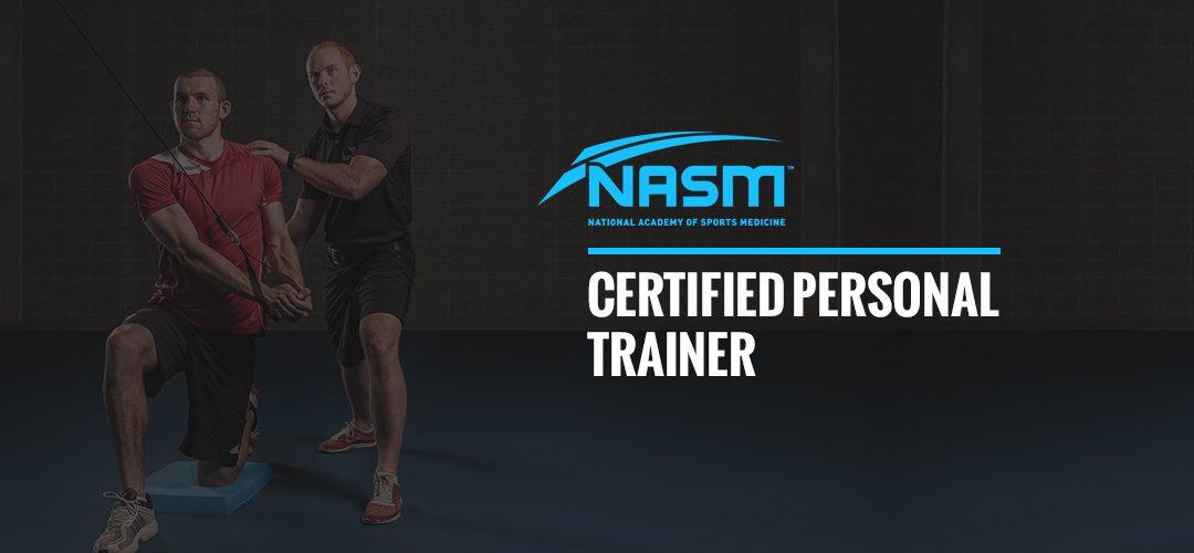 NASM-CPT 美國國家運動醫學會 – 私人教練課程