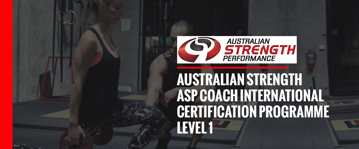 ASP Coach International Certification Programme (ASP Coach Level 1)