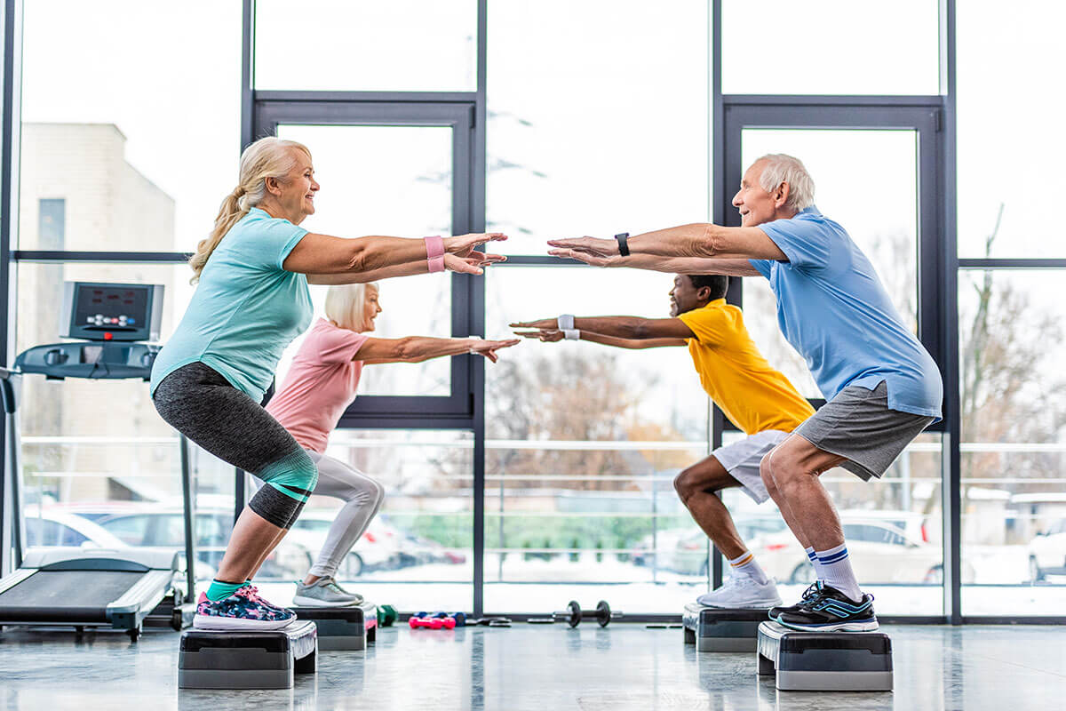EXERCISE AND OLDER ADULTS: PROTECTING THE BRAIN FROM COMMON PROBLEMS: