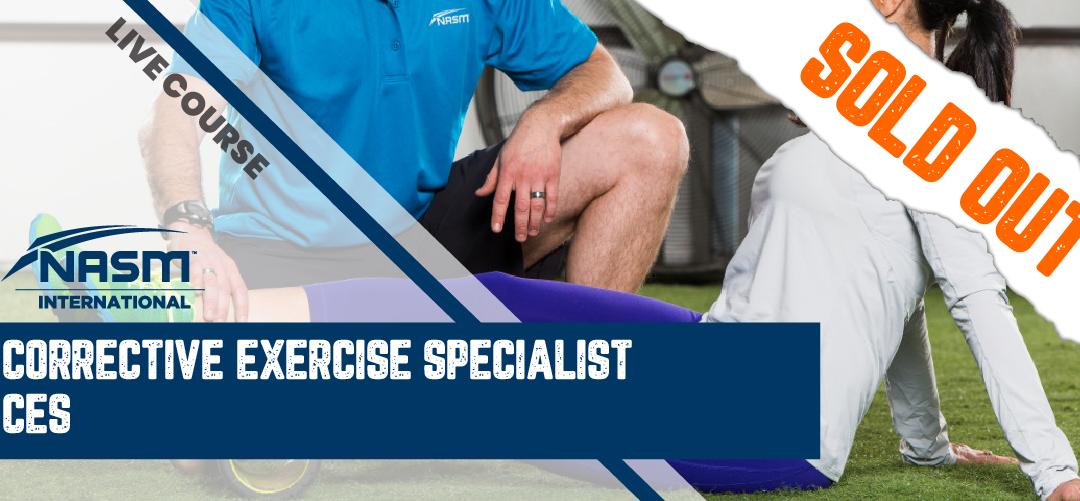 NASM Corrective Exercise Specialist (NASM CES) 美國國家運動醫學學會 – 矯正性運動訓練