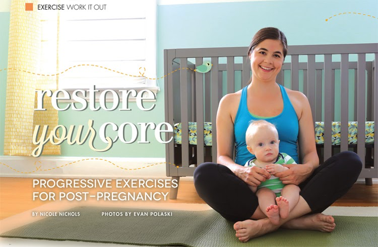 RESTORE YOUR CORE: PROGRESSIVE EXERCISES FOR POST PREGNANCY:
