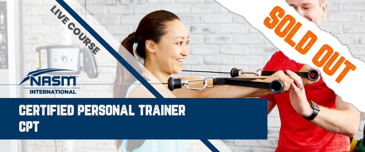 NASM-CPT 美國國家體育醫學學會- 私人教練課程 : 廣東話(2日課程)