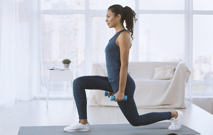 8 TIPS FOR TRANSITIONING BACK TO AT-HOME WORKOUTS DURING THE PANDEMIC