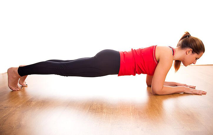 HOW TO PERFORM A STANDARD PLANK WITH 4 VARIATIONS: