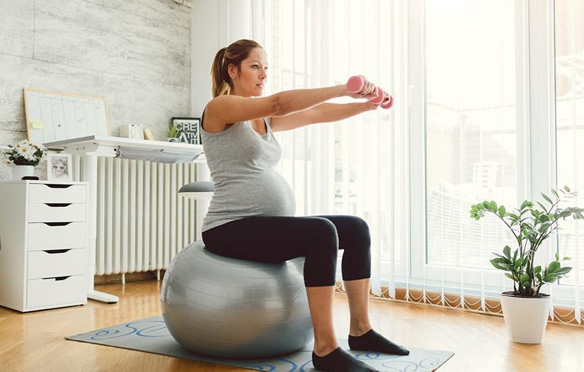 SAFE PREGNANCY EXERCISES FOR EACH TRIMESTER: PRENATAL WORKOUTS:
